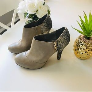 Fergalicious Heeled Booties Size 9